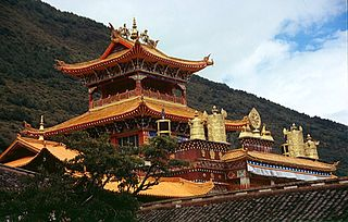 Nanwu Si Monastery building in Nanwu Si Monastery, China