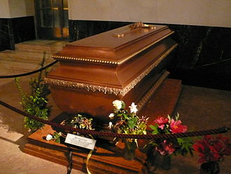 Zita of Bourbon-Parma - The tomb of Empress Zita at the Imperial Crypt, Vienna
