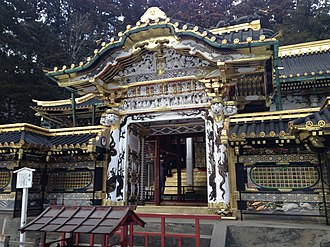 Tōshō-gū - Image: Karamon of Nikko Tosho Shrine