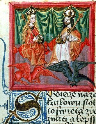 Blanche of Valois - Image: Karl IV Blanca Valois