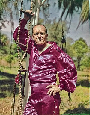 Karl Wallenda - Wallenda in Sarasota, Florida