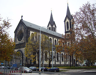 Karlín - Saints Cyril and Methodius Church