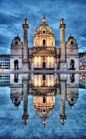 1736 in architecture - Karlskirche, Vienna