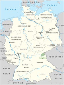 fichtelgebirge karte Naturpark Fichtelgebirge – Wikipedia