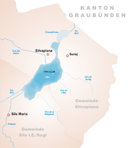 Karte Silvaplanersee