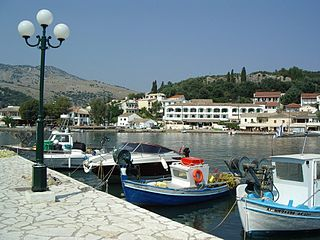 Kassiopi Place in Greece
