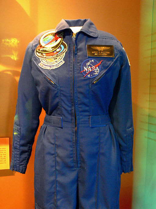 Kathy Sullivan T-38 flight suit Womens Museum