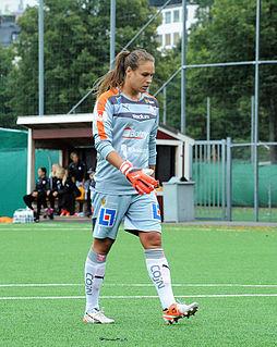 Katie Fraine American soccer goalkeeper