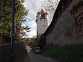 Kaufbeuren, Stadtmauer Fuenfknopfturm.JPG