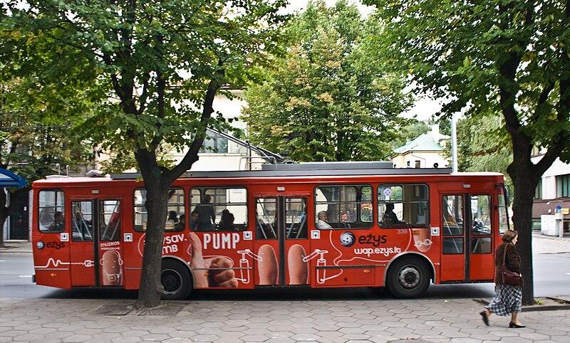 Quanto custa ônibus na Lituânia