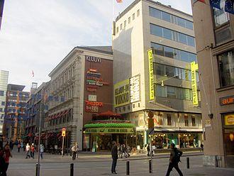 Kluuvi shopping centre - Image: Kauppakeskus Kluuvi