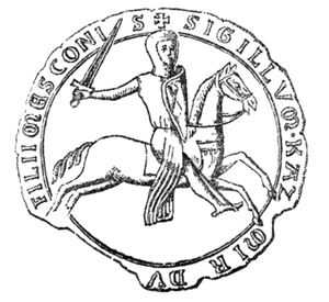 Casimir I of Opole - Seal of Casimir I, 1226