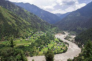 Keran, Azad Kashmir Village in Azad Kashmir, Pakistan