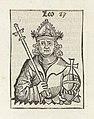 Keizer Leo I van Byzantium Leo (titel op object) Liber Chronicarum (serietitel), RP-P-2016-49-46-8.jpg
