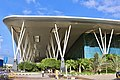 Kempegowda International airport from Driveway.jpg