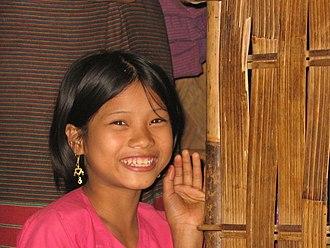 Khumi people - Image: Khumi Girl 1