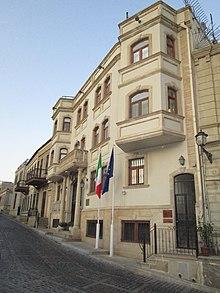 Azerbaijan Italy Relations Wikipedia