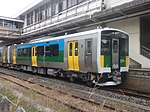 KiHa E130-101 Kisarazu 20121101.JPG