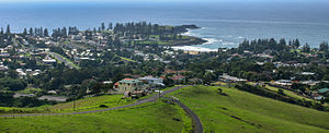 Kiama, New South Wales - Panorama of the town