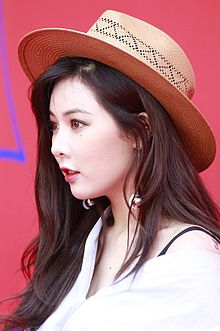 Kim Hyun-ah at the Seoul Fashion Week 2016 03.jpg