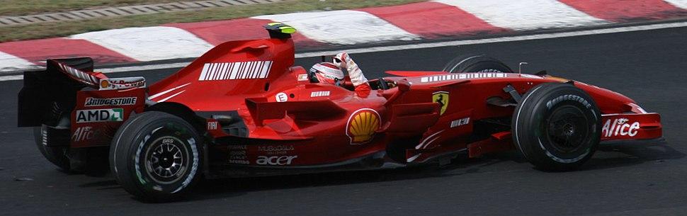 Kimi Raikkonen won 2007 Brazil GP