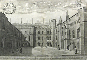 King's College, Cambridge - Old Court
