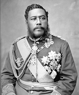 Last reigning king of the Kingdom of Hawaii