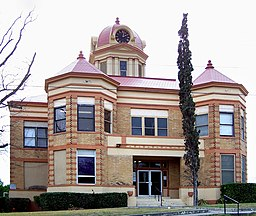 Kinney County Courthouse i Brackettville.