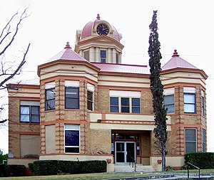 Kinney County, Texas - Image: Kinney courthouse
