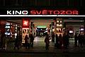 Kino Světozor - večerní vchod do pasáže.jpg
