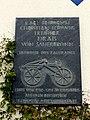 Kirchberg – Gedenktafel Freiherr Drais von Sauerbronn - panoramio.jpg