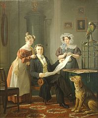 The Surgeon with Wife and Daughter