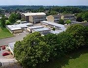 Kite aerial photo of Thomas Keble School