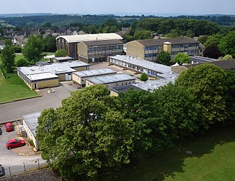 Bussage - Kite aerial photo of Thomas Keble School