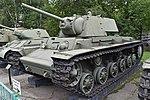 Kliment Voroshilov KV-1 model 1942 - Central Armed Forces Museum, Moscow (38859717001).jpg