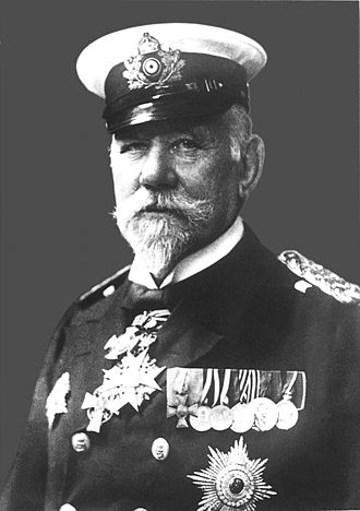 SMS Kaiser Wilhelm II - Admiral Hans von Koester, who would serve as the fleet commander aboard Kaiser Wilhelm II for the majority of her active career