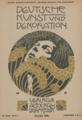 Kolo Moser - Deutsche Kunst und Dekoration, Heft 6, 1900.png