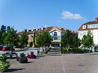 Kommunhuset i Hultsfred, invid Stora torget.JPG