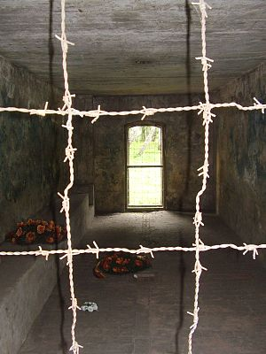 Stutthof concentration camp - Inside the gas chamber