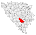 Konjic Municipality Location.svg