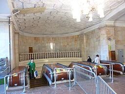 Krasniye Vorota north upper escalator 2