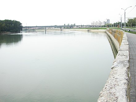 Kuban River in Krasnodar