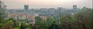 Kuala Terengganu viewed from Bukit Panorama
