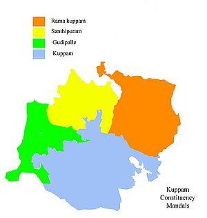 Kuppam - Kuppam constituency mandals