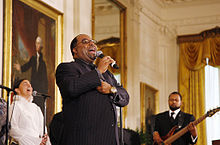 Kurt Carr and the Kurt Carr Singers perform at the White House.jpg