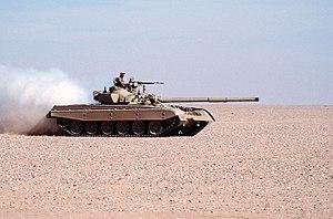 M-84 - A Kuwaiti M-84 during Operation Desert Shield
