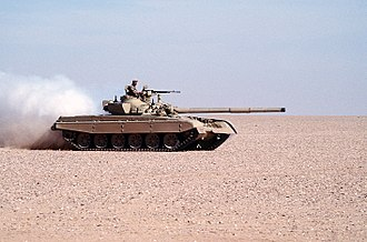 M-84 - A Kuwaiti M-84 during Operation Desert Shield