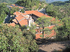 Kykkos monastry from the air.JPG