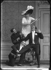 Kyska Susanna, Oscarsteatern 1911. Rollporträtt