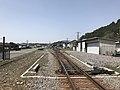 Kyudai Main Line near Bungo-Mori Roundhouse 2.jpg
